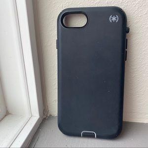 Black (*️⃣) Speck IPhone Case - fits 7/8 & SE 2020